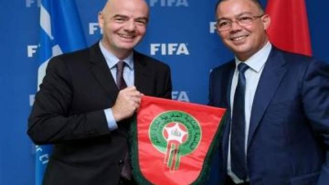 """""""الفيفا"""" تصدم الملف الأمريكي المشترك وتزف خبرا سارا للمغاربة"""