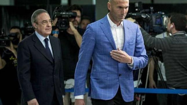 هذه هي الأسماء الثلاثة المرشحة لخلافة زيدان لتدريب ريال مدريد