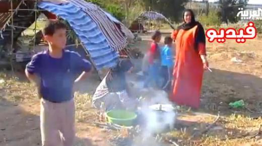 مئات العائلات السورية عالقة بمدينة الناضور في إنتظار النزوح نحو مليلية