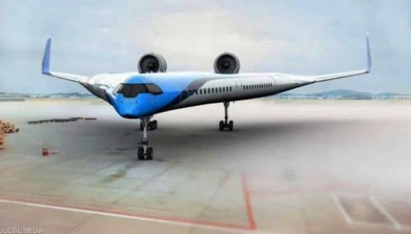 """كل شيء """"حتى الركاب"""" داخل الجناحين.. طائرة المستقبل """"أقلعت"""""""