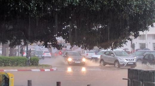 تغير مرتقب في الحالة الجوية بالمملكة والتساقطات المطرية تعود من جديد إلى عدد من المناطق
