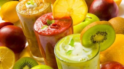 شهيوات رمضان: مجموعة عصائر منعشة من الفواكه الطبيعية