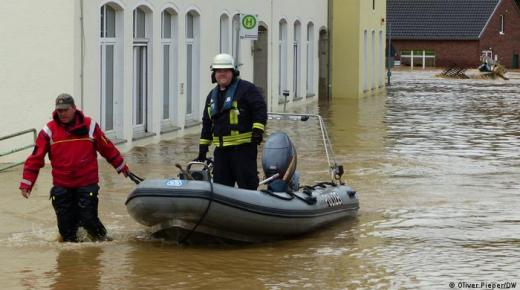 عشرات القتلى والمفقودين جراء الفيضانات في ألمانيا وبلجيكا