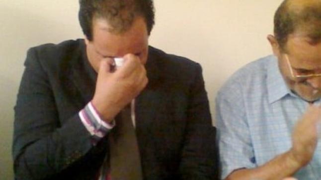 قائد أولاد ستوت السابق يذرف الدموع خلال تكريمه من طرف الجماعة والمجتمع المدني + صور وفيديو
