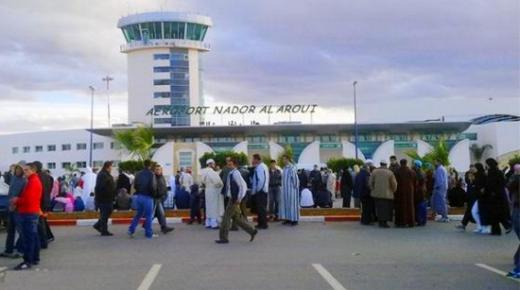 مطار الحسيمة يسجل تراجعا كبيرا ومطار الناظور يتفوق على مطار الرباط