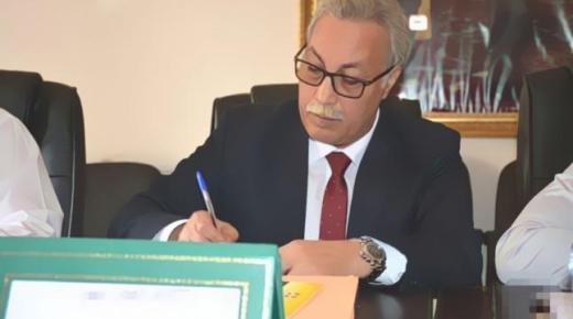 رئيس جماعة بالريف يعلن قُرب عقد اتفاقية توأمة مع بلدية إسرائيلية (صورة)