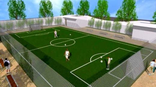 مشروع لإنشاء 11 ملعبا للقرب بعدد من جماعات إقليم الناظور
