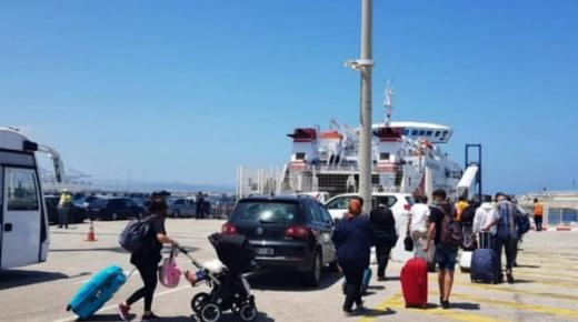 ترحيل 281 عالق من طنجة إلى الجزيرة الخضراء.. والسفارة الإسبانية تُعلن عن رحلة جديدة