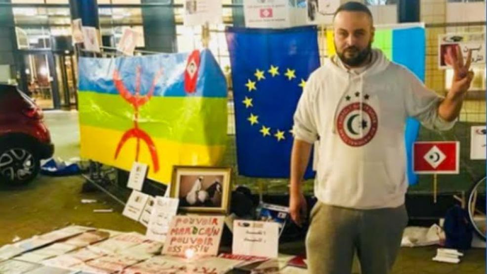 الناشط الحراكي قجوع وافي يمثل أمام المحكمة في قضية تهريب المخدرات