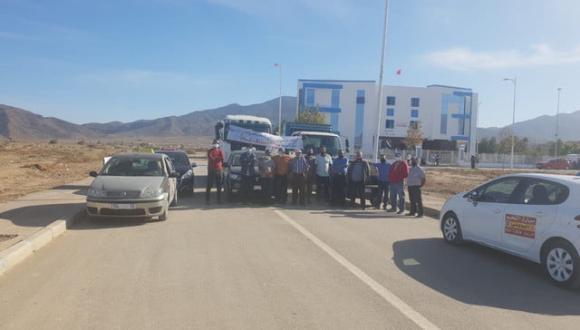 أرباب مدارس تعليم السياقة بإقليم الدريوش يطالبون باحداث حلبة خاصة لاجتياز الامتحان التطبيقي(+صور)