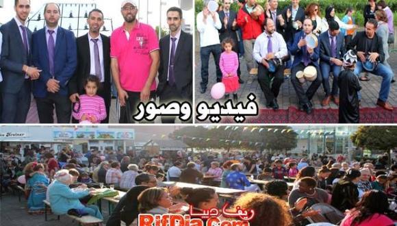 المانيا: مشاركة قوية للجالية المغربية في مهرجان مدينة شفالباخ طونوز