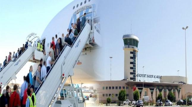حوالي 44 ألف مسافر استعملوا مطار الناظور- العروي خلال دجنبر الماضي