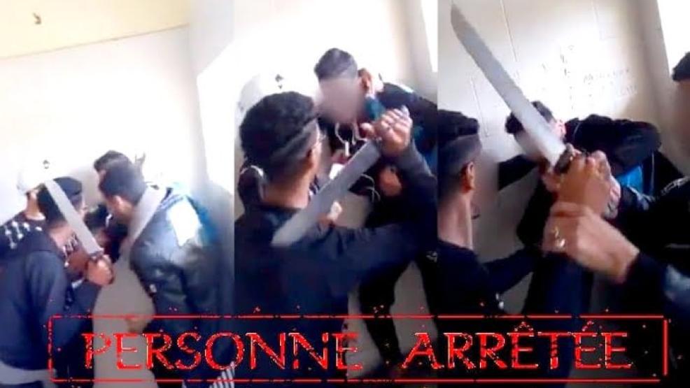 """اعتقال تلميذ هدّد زميلاً له بواسطة سلاح أبيض داخل """"مرحاض"""" مؤسسة تعليمية"""