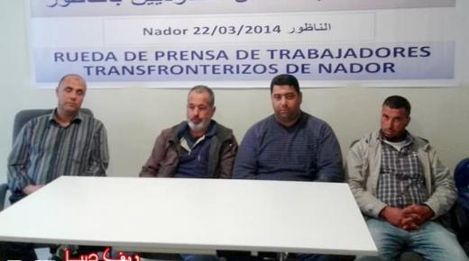 العمال المغاربة الحاملين لرخص العمل الإسبانية غير المقيمين بمدينة مليلية يشتكون التمييز (فيديو وصور)