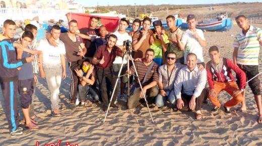 """شباب من بني شيكر يبدعون في تصوير كليب غنائي بعنوان """"ثاروا ناريف"""" (+صور)"""