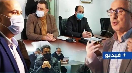 (+فيديو): مفاجئ! رفاق نور الدين البركاني يصوتون مع مجعيط بدورة فبراير لمجلس جماعة الناظور