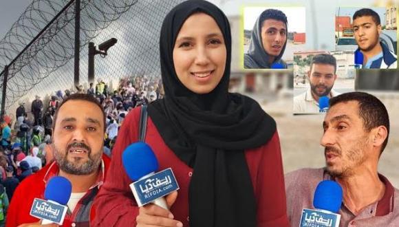 الساكنة المجاورة لمدينة مليلية تتحدث عن أحداث اقتحام المواطنين للسياج الحدودي بعد أزمة المغرب واسبانيا
