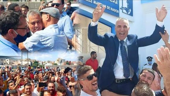 """دقة مراكشية و احتفالات أنصار مكتب المجلس الجديد بـ """"بني انصار"""""""