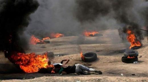 إسرائيل ترتكب مجزرة دموية في حق الفلسطينيين تزامنا مع افتتاح السفارة الأمريكية بالقدس