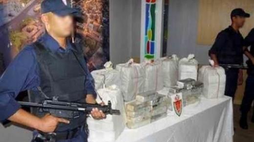 ضبط 2,5 طن من الكوكايين وتفكيك شبكة دولية تنشط بين الناظور وتمارة