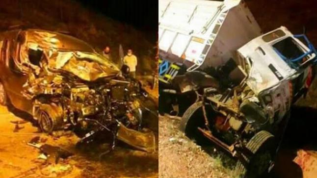 اصابات خطيرة في حادثة سير بمدخل مدينة الحسيمة