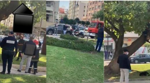 الأمن يكشف حقيقة فيديو انتحار أستاذ متعاقد بالشارع العام