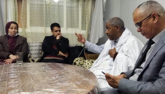 مؤسسة جمع شمل الصحراويين المغاربة تجدد مكتبها الاقليمي(+صور)