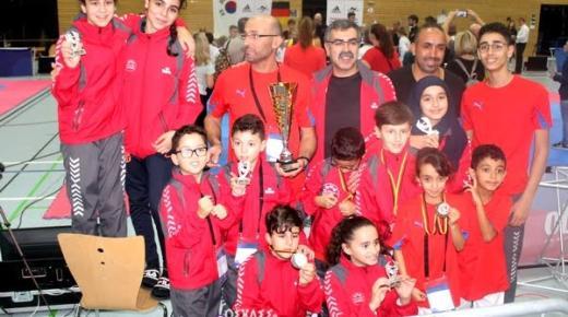 اشبال الإطار بغداد بنعمر يحصلون على المركز الثالث ببطولة دولية في التايكواندو بألمانيا