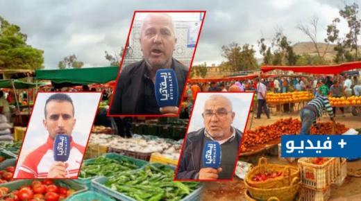 نقابيون عن قطاع سوق أزغنغان يطالبون بإعادة تنظيم السوق (+فيديو)