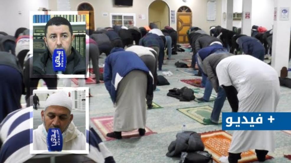 أجواء صلاة التراويح من مسجد حسان بفرانكفورت و تصاريح أبناء الجالية (+فيديو)