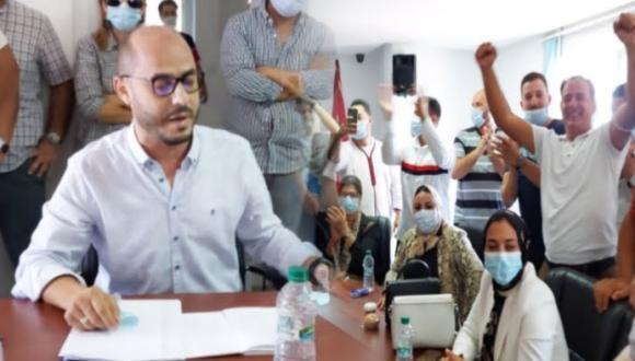 مباشر: أطوار جلسة انتخاب نواب رئيس حضرية الناظور