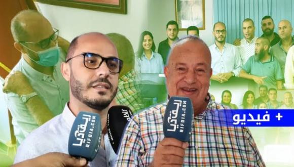 """سليمان أزواغ و أبرشان على """"ريـف ديـا"""" بعد تشكيل مجلس جماعة الناظور"""