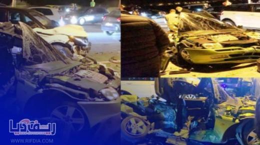 وفاة شخص وجرح آخرين في حادثة سير خطيرة بالقرب من المنطقة السياحية لطنجة
