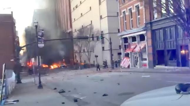 بالفيديو: انفجار ضخم يهز أمريكا