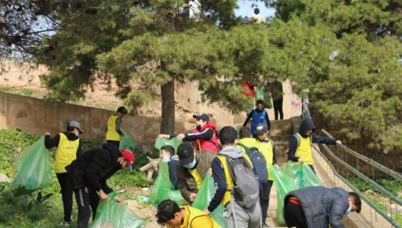"""جمعية سمايل تنظم التظاهرة البيئية """"البلوكينغ"""" دورة 2021 في تألق منقطع النظير"""