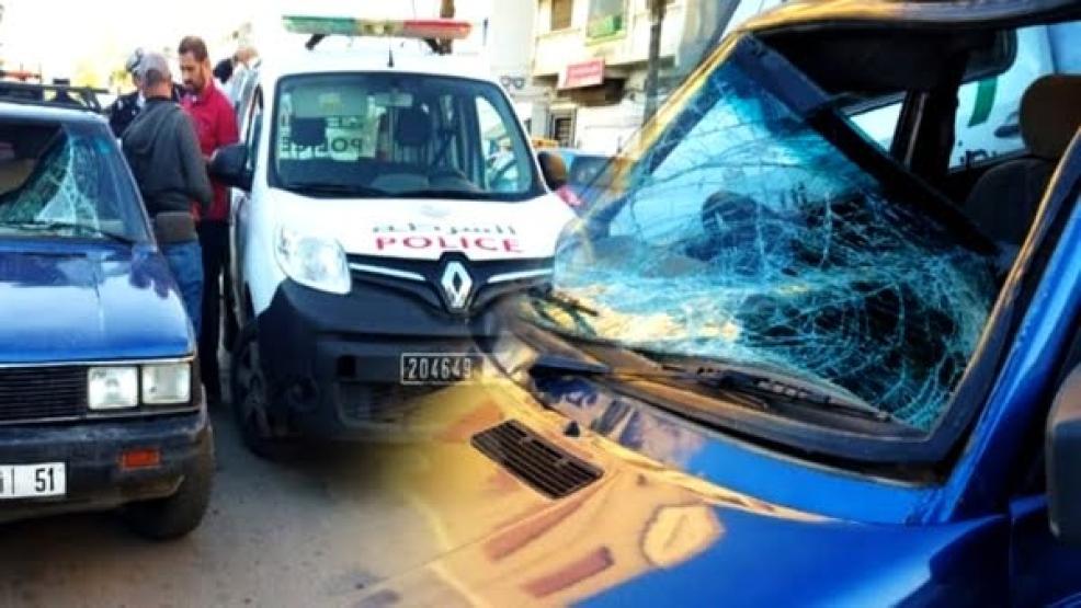 حادثة سير ترسل ستينيا في حالة حرجة إلى مستشفى الحسني بالناظور دقائق قبل أذان المغرب (صور)