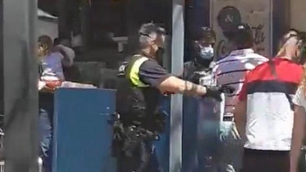 شاهد فيديو.. إصابة العشرات بحادث دهس في منطقة للمشاة بمدينة ماربيا الإسبانية