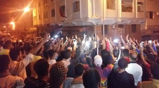عاجل: تظاهرات ليليّة في عدة مناطق بالريف واندلاع مواجهات متفرقة