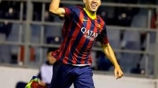 نجم شبان برشلونة الريفي منير الحدادي يستدعى لتمثيل المنتخب الإسباني