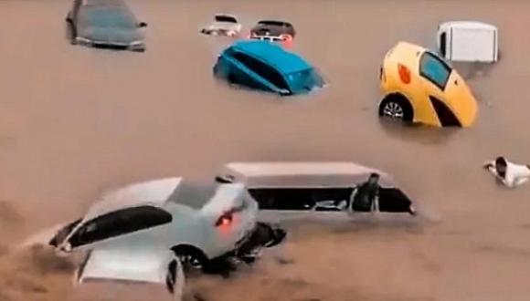 شاهد أسوأ فيضانات واجتياحات مائية مرعبة في الصين