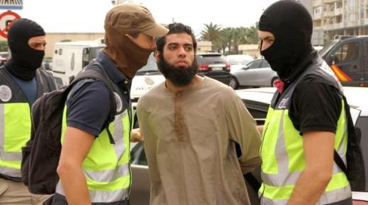"""القضاء الاسباني يبرئ """"زعيم خلية ارهابية"""" تنشط في بالناظور ومليلية"""
