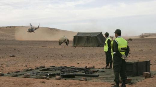 القوات المسلحة الملكية تُحْبط عملية تهريب مخذرات لجرذان البوليساريو(+صور)
