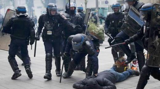 استمرار أعمال العنف والشرطة الفرنسية تعتقل العشرات (فيديو )