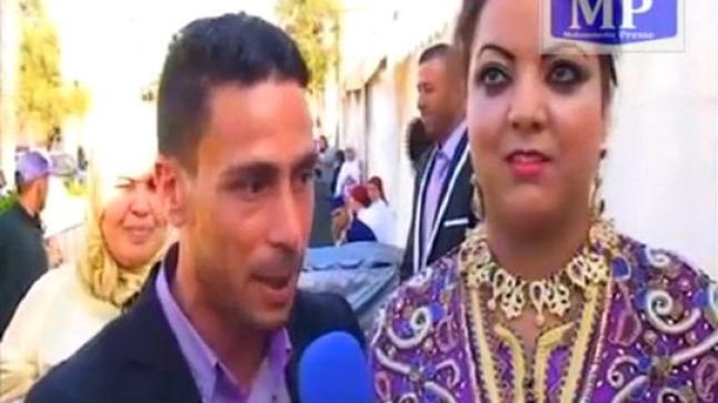 تصريح غريب لعريس مغربي ليلة زفافه