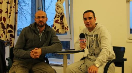 ألمانيا : مندوب ريف دييا بفرانكفورت في زيارة للزميل هشام الدين بمستشفى ماركوس (فيديو)