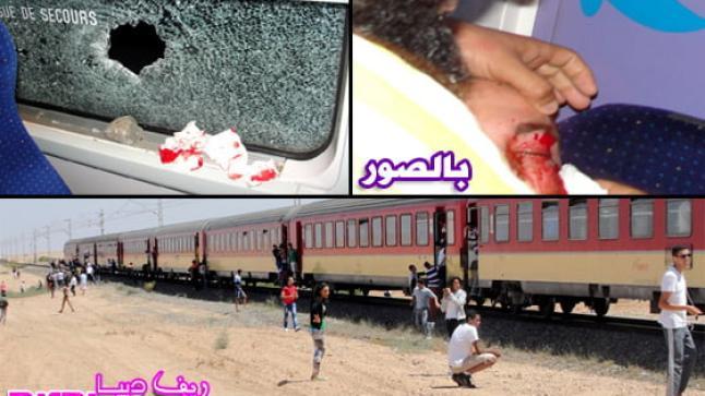 إصابة شاب من الناظور خلال هجوم بالحجارة على قطار بنواحي فاس