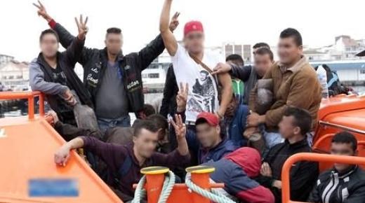 الحرس الإسباني يوقف مهاجرين مغاربة ويسلمهم لشرطة الناظور