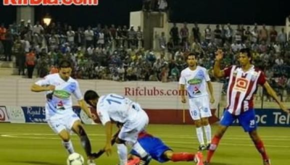 شباب الحسيمة بتسعة لاعبين تسقط المغرب التطواني بهدف قاتل