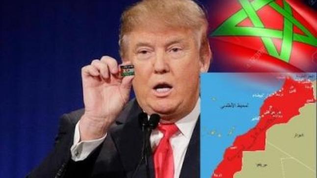 """أمر عاجل من """"ترامب"""" بخصوص الصحراء المغربية والتنفيذ فوري..!!"""