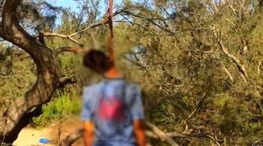انتحار بائع خضر في حي بالناظور.. علّق نفسه في شجرة